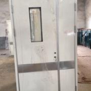 现货热销 医院室内病房门 专业抗菌医院门 钢质医院门加工