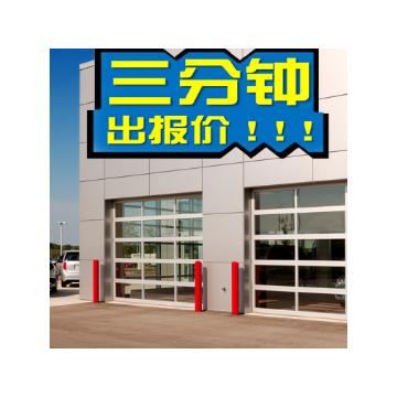 透视工业门 透视车库门 汽车感应4s店