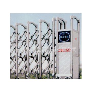 长期销售不锈钢电动伸缩门 自动伸缩门 厂房小区学校大门电动门