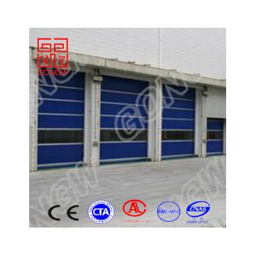 批发出口生产厂家销售快速门 PVC工业门 堆积门 上门测量安装
