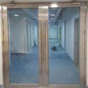 定制甲级乙级不锈钢玻璃消防门订制304工程门大堂大厅防火门厂家