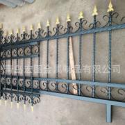 厂家定制直销成品铁艺花件护栏热镀锌方管烤漆栏杆锻打阳台扶手