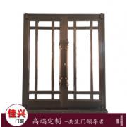 天然健康铝包木门材料型平推门 厂家直销 精制私人订制门窗