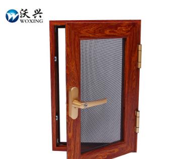 【厂家直销】金刚网纱窗 铝合金材质不锈钢纱网 防盗纱窗
