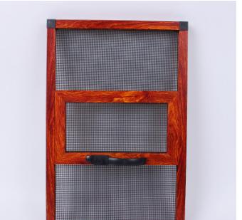 新款三趟金刚网纱窗 铝合金材质不锈钢纱网 防盗纱窗