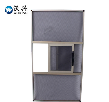 【厂家直销】框中框三趟金刚网纱窗 铝合金材质 304不锈钢纱网