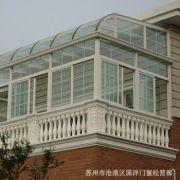 苏州园区铝合金阳光房 安全玻璃房 强抗风压性能铝合金阳光房