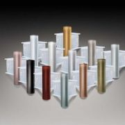 迈泽建材 铝合金踢脚线 专用配件 地脚线 铝阳角 T60MM系列