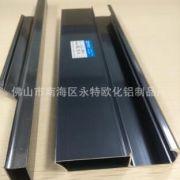 晶钢门铝型材 橱柜铝材 铝材门框五金配件 铝合金加工定做
