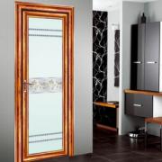 铝合金卫生间隔音平开门 单开厨房卫浴玻璃隔断门卫生间门厕所门