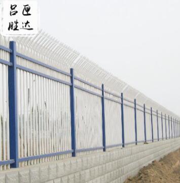厂家直销锌钢护栏 别墅小区围墙护栏 防爬防盗防护护栏定制