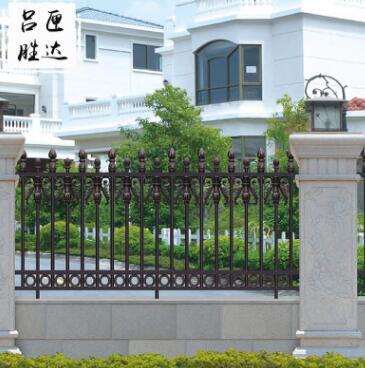 别墅小区铝艺护栏 泳池铝艺护栏 庭院别墅铝艺护栏围栏护栏