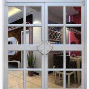 中西餐厅推拉门厂家 休闲餐厅进户门可定制生产 肯德基门价格