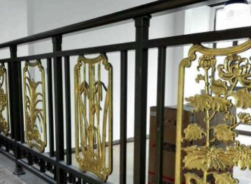 厂家直销铝艺围栏 楼梯护栏阳台扶手 围栏配件85*57面包管装饰柱