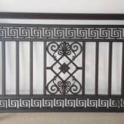 厂家直销铝艺围栏 楼梯护栏阳台扶手复古款中式长回型花组合等