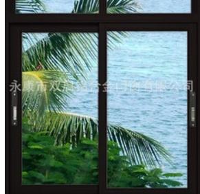 供应铝合金推拉窗,隔热铝合金推位窗,