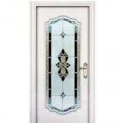 推拉门 阳台移门 实木复合烤漆玻璃门