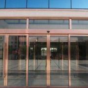 宁波感应门折叠门水晶门自动门维修安装