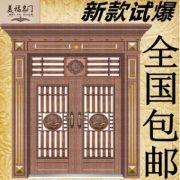 304不锈钢门 进户门入户门 不锈钢防盗门 定做双开四开不锈钢大门