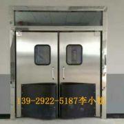 欧妮特北京304不锈钢自由门车间不锈钢防撞门超市车间仓储防撞门
