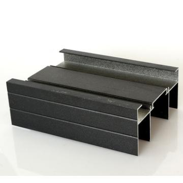 批发868系列喷涂黑色推拉窗铝材 佛山铝型材定制、批发厂家