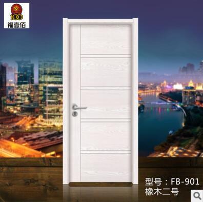 环保精装韩式生态门 生态实木复合门 防腐蚀耐用套装卧室门