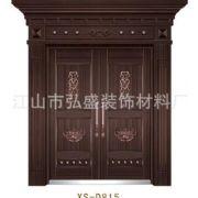 高级别墅大门铜铝门 专业生产 铜铝门XS-D815 各种型号 规格齐全