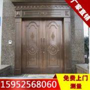 鑫旺扬州别墅铜门玻璃大门厂家直销专业设计免费测量