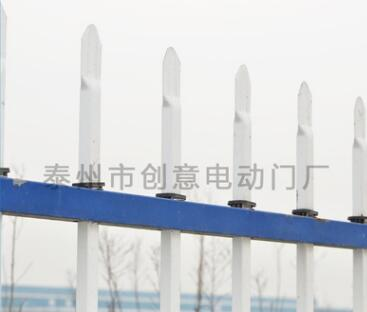 工厂学校围墙塑钢安全护栏 花池公共场所防护栏