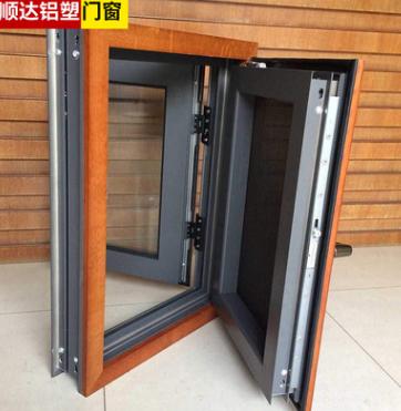 厂家直销断桥铝平开窗 铝合金门窗定制 隔音隔热平开窗