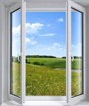 海螺塑钢型材平开推拉窗 隔热 耐腐蚀 隔音 防风 防盗 防尘