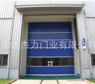 工厂厂房快速卷闸门 防尘自动感应门加工定制 折叠式电动卷帘门