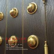 专业生产铜门铜旋转门别墅铜门庭院门 厂家直销