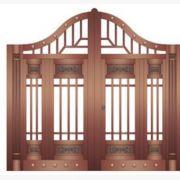 家装铜门 推拉门厂家直销优质豪华铜门整套门加工定制