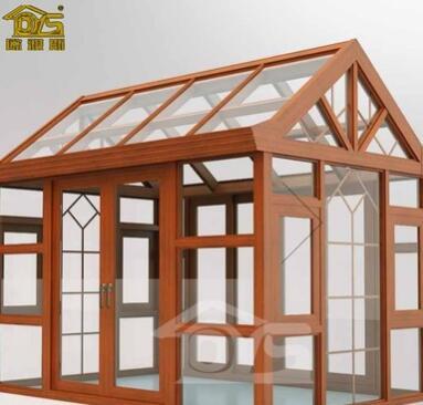 全国定制 铝合金阳光房庭院别墅钢化玻璃房阳台透光屋露台阳光房