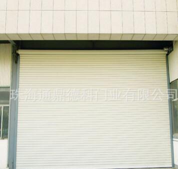 供应大型超厚抗风卷闸门,加厚1.5厚镀锌钢抗风门