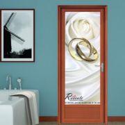 铝合金门窗厂家直销厕所门平开门铝合金门单包边1.4新弧铝材