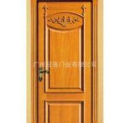 广州冠洛门业定制设计各种室内木门 原木门 酒店木门 家居室内门