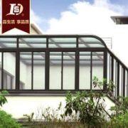 厂家生产 保温阳光房 断桥铝玻璃阳光房 外开窗阳光房
