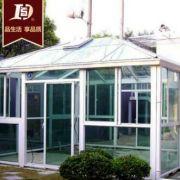 铝合金活动阳光玻璃房 加厚钢化中空玻璃 阳光房铝合金型材