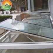 铝合金电动窗 批发威卢克窗 供应斜屋顶电动采光排烟天窗定制门窗