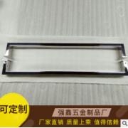 不锈钢玻璃门拉手 淋浴房五金 不锈钢门把手 直销Q-2210可定制