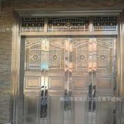 佛山吉南坚固耐用的304不锈钢家居防盗门-四开门