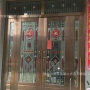 吉南不锈钢防盗门厂生产304不锈钢防盗门