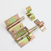 厂家直供 镀彩锌门插销 带锁孔西班牙款插销 重型插销