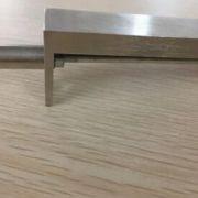 精铸插销双开门暗藏插销304不锈钢子母门插销大门插销6寸-12寸