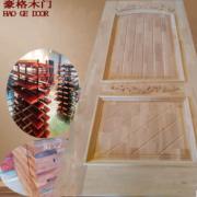 长期供应 优质实木烤漆双开门 经典欧式实木双开门