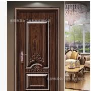 供应钢制木纹转印门 非标转印烤漆工程门 豪华钢制室内门