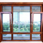铝木门窗 通州铝包木门窗定制 隔热铝木复合门窗