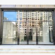 304不锈钢自动玻璃门